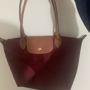 Long champ le pliage bag size small